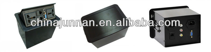 Office Furniture Multifunctional Desktop Socket / Tabletop Socket / Conference Table Socket