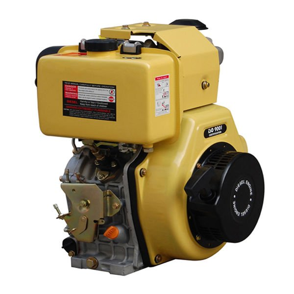 Small Diesel Lawn Mower Engine Horizontal Shaft Air-cooled Diesel Engine