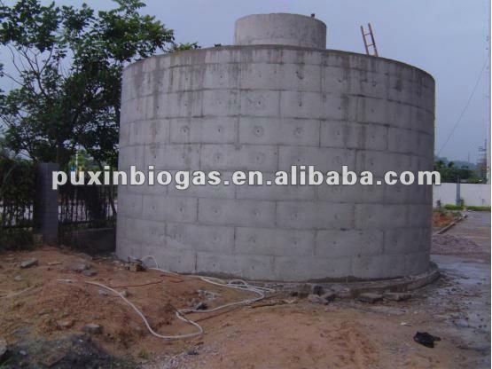 PUXIN medium and large size anaerobic digester