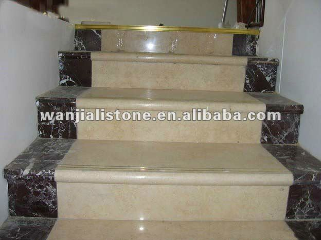 Marble stone stairs