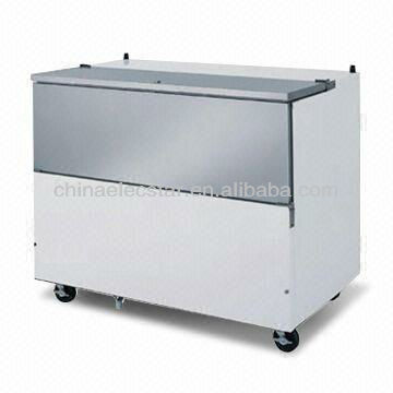 Cold Wall Milk Cooler with Width of 34, 49 and 58 Inches, UL and NSF Standards