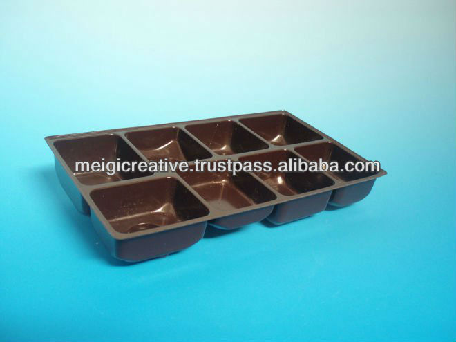 PVC Clear Plastic Insert Tray, Electronic Packaging