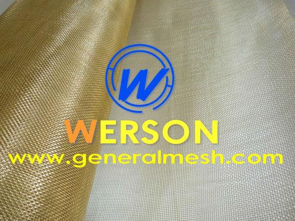 100 mesh H80 Brass Wire Mesh
