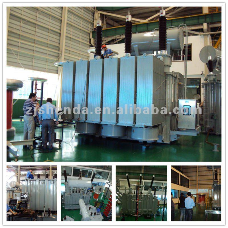 3 Phase Electric Power Transformer 11kv 33kv 66kv 69kv
