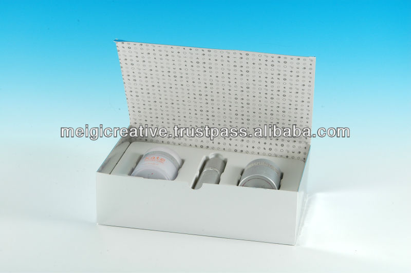 Custom Print Chipboard Folding Box with Magnet