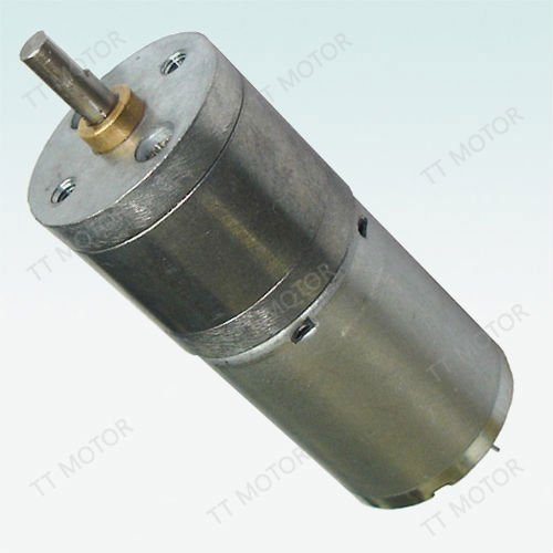 12V 370 dc gear motor with 25mm gearbox