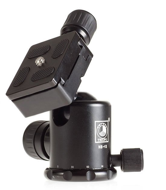 2-knob ballhead & aluminum ball head & Photography Equipment for Camera Tripod, TRIOPO:NB-1S