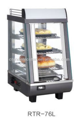 Pizza warming showcase/Square Electric Pizza Warmer/Electric Hot Pizza counter Display