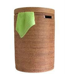 Wicker Laundry Basket (july.etop@exporttop.com)