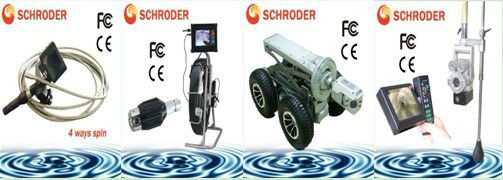 Rotate 360 degree camera for underwater well SD-1070A