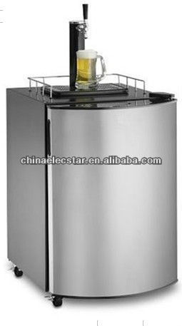 beer dispenser with mechanical control