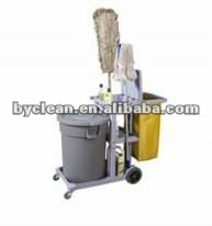 hotel and restaurant cleaning janitor cart