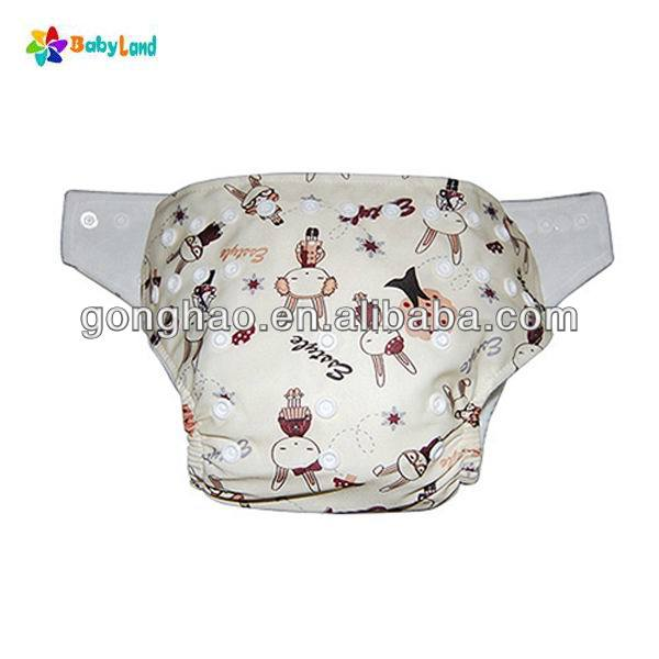 Quality Washable Waterproof Printed Baby Cloth Nappy China Factory Nappy