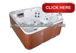 2018 J-SPATO best selling acrylic outdoor spa