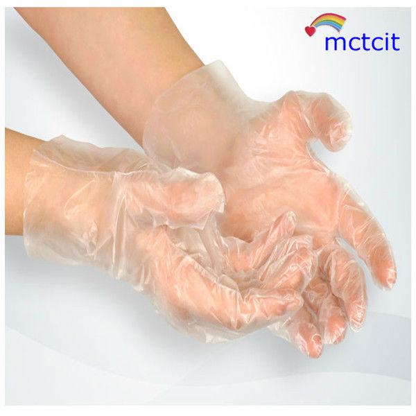 PE/CPE Transparent Disposable Food Plastic Glove
