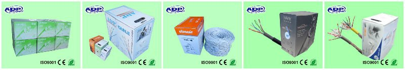 UTP 2x2x0,5 Cat 5e 24 AWG, Copper(RECYCLED 80-90%),Grey PVC Jacket