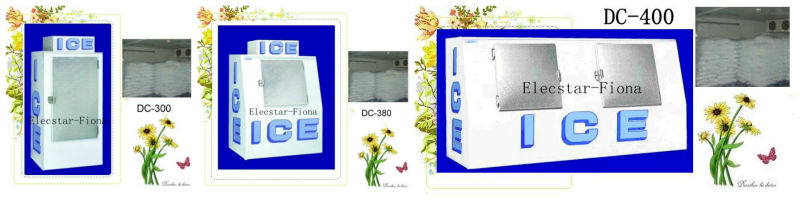 Ice maker/Commercial ice cube machine 20-500KG/day with ice bin