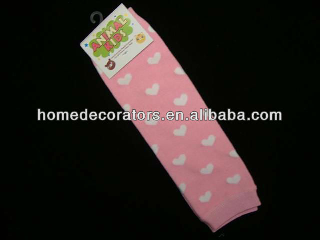 Valentines Day Baby Cotton Leg Warmers Children Socks Toddlers Baby Leg Warmer Tube Socks Arm Warmers Baby Leggings