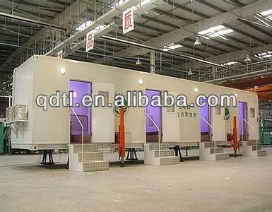 Prefabricated container show room