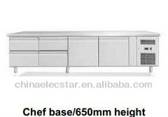 650mm height chef base