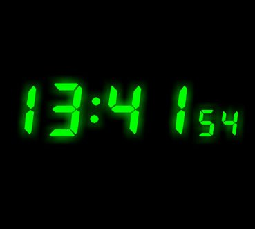 Low consumption! 7 segment led display for digital clock