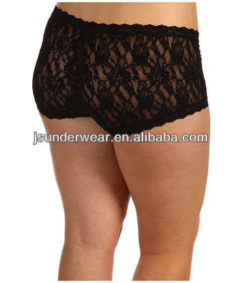 Hot Design Lady Boy Shorts,.Lace Boxers Panties