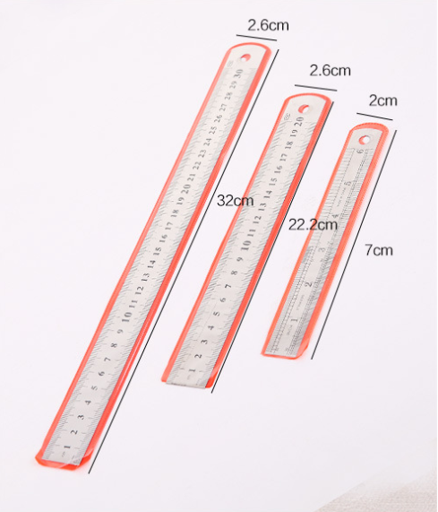 Factory Spot hot selling convenient low price new Stainless steel ruler