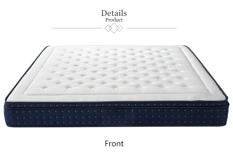 13 inch bamboo non-slip bottom certipur-us certified queen size infused memory foam mattress - Jozy Mattress | Jozy.net