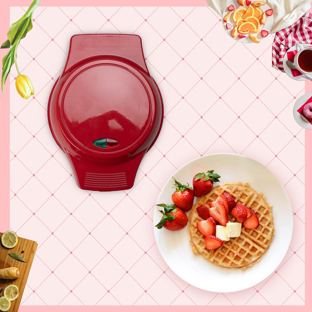 Cake Maker with Detachable Cooking Plates with waffle  Maker Plates