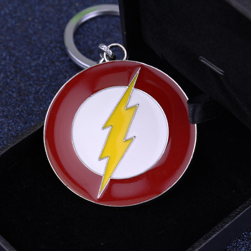 Avengers 4 Infinity War The Flash Gordon Lightning Car Key Chain Keyring Holder