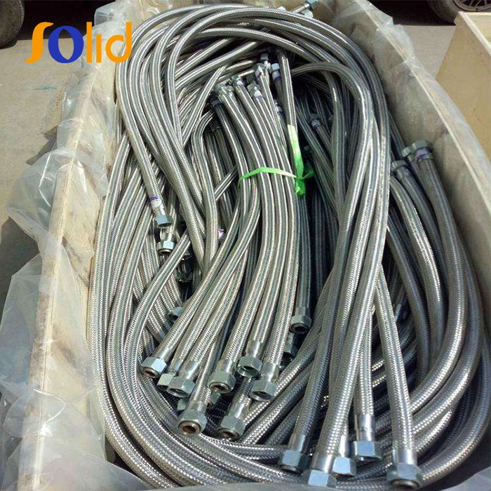 Flexible SS304 Stainless Steel Braided Flexible Hose