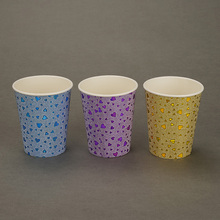 Hot Sell Heart Flower Pattern Coffee <strong>Paper</strong> Cup For Disposable <strong>Paper</strong> Cup