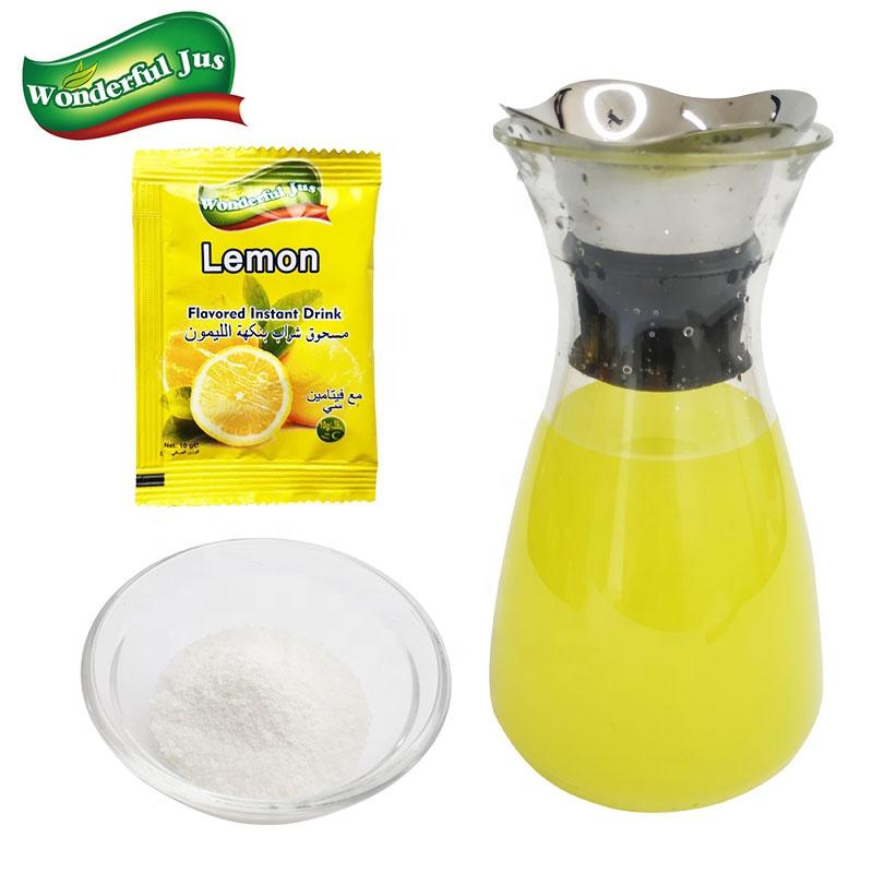 Good Quality Lemon Concentrate Dalya Juices Powder Fruit Flavored