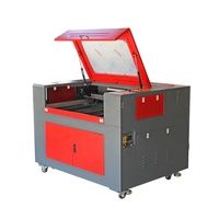 JY-960 690 6090 9060 80w 100w 130w 150w fabric paper jeans acrylic plastic wood pvc board laser cutting machine