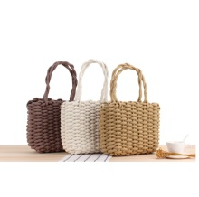 Summer Wholesale Cheap Female Beach Paper mini Straw Crocheted Bag