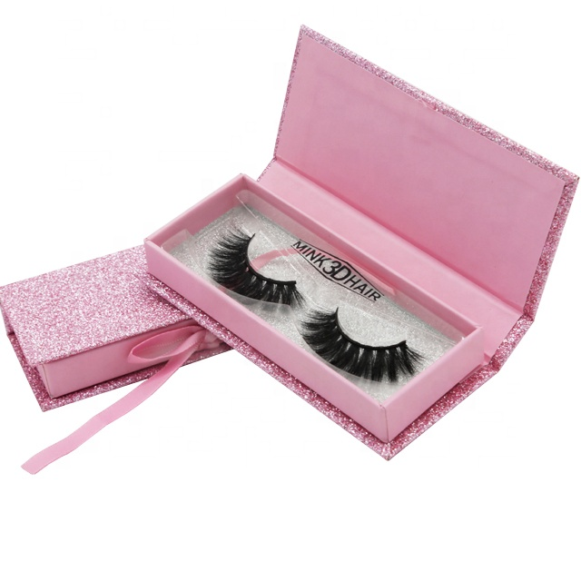 100% Real Siberian Mink 25Mm Long Lash Best 5D Eyelash Private Label Mink Lahe 3D Mink Eyelash