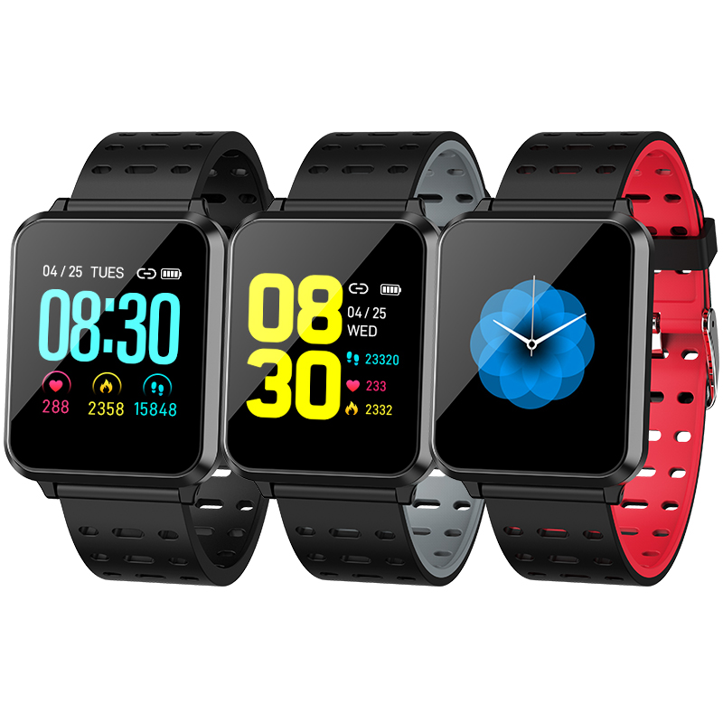 Cheap High Quality Rugged Ip67 Waterproof Swimming Blood Pressure Pedometer Smartwatch