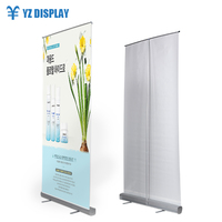 Double Screen Pull Up Banner Stand Roll Up Banner Digital Print