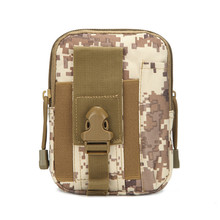 Camouflage Military Army Molle System <strong>Bag</strong> 600D Oxford <strong>Colth</strong> Small <strong>Bag</strong>