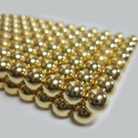 Wholesale Guangzhou Super Strong Sintered Rare Earth Permanent gold Ball Sphere Neodymium Magnets