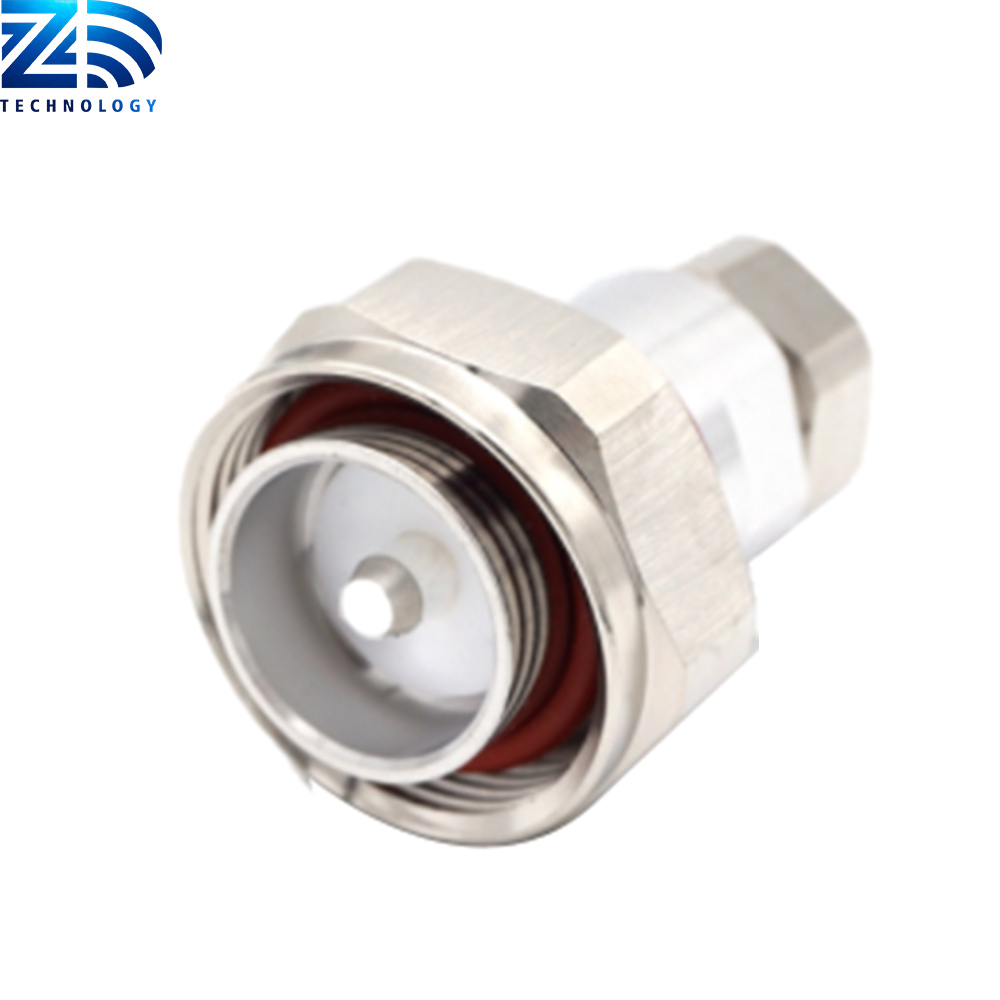 7/16 DIN Male For <strong>1</strong>/2&quot; Feeder cable Factory Price RF Connector Adapter
