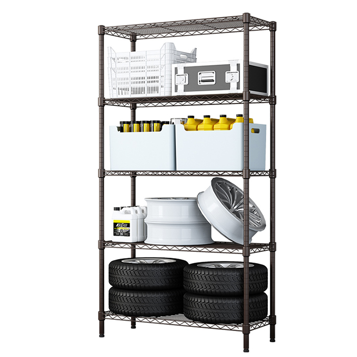 High bearing capacity corrosion protection storage wire shelf metal <strong>rack</strong>