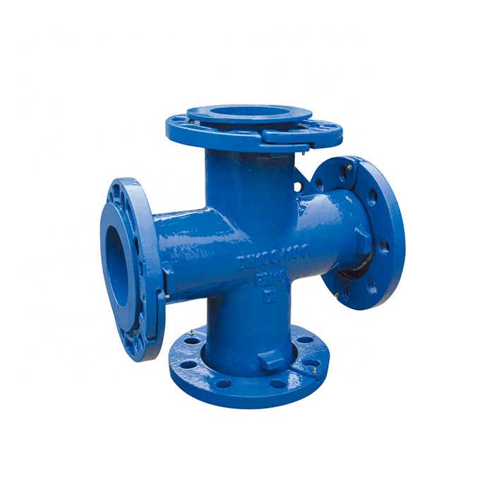 En545 En598 ISO2531 DI Ductile Cast Iron All Loosing Flanged Fittings