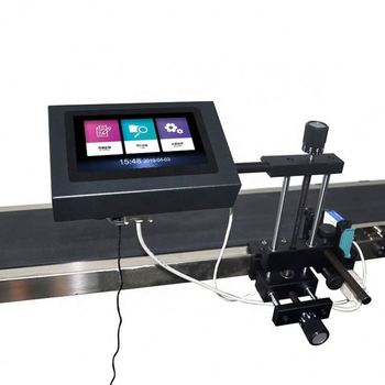 High Efficient Automatic Inkjet Printer For Date And Number At The Bottom Or Surface
