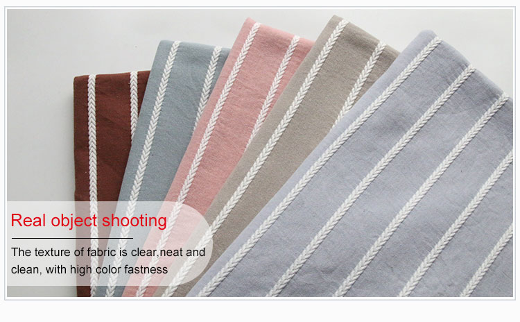 3316#Free sample card 80% cotton and 20%polyester comfortable knitted jacquard fabric