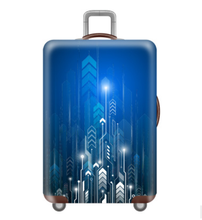 Wholesale Unique Galaxy Luggage cover Customize Printed Spandex Luggage Protecter Suitcase cover Apply to 18-22 Inch