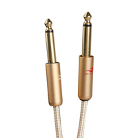 Hifi Low Noise Dual 6.35 To XLR Male To Male Customized Logo XLR Cable Audio