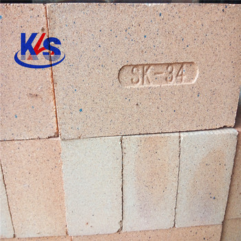 SK34 42% Al2O3 Heat Resistance Fire Refractory Brick for Pizza Oven/ Stove/ Furnace/ Fireplace