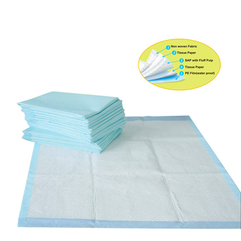 High Quality Disposable Medical Under Pads Bamboo Biodegradable Pet Training Pads