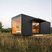 Glass modular homes, steel prefabricated houses, container house